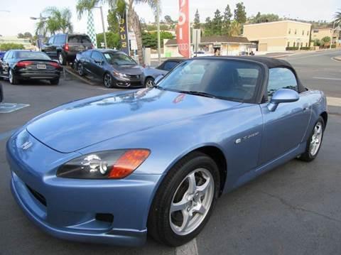 2002 Honda S2000 for sale in La Mesa, CA