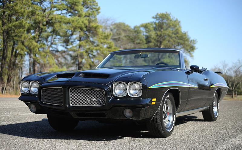 1971 pontiac gto for sale for Motor vehicle suspension nj