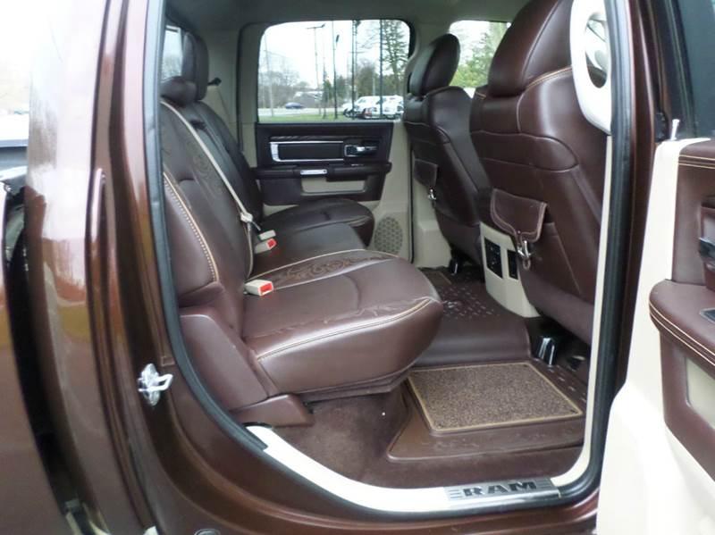 2014 RAM Ram Pickup 2500 Laramie Longhorn 4x4 4dr Crew Cab 6.3 ft. SB Pickup - Monroe MI