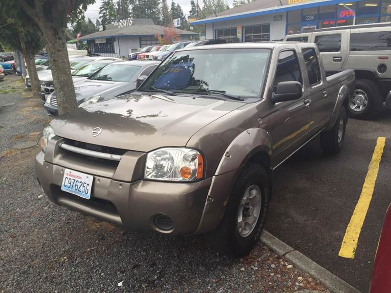 2004 nissan frontier 4dr crew cab xe v6 4wd lb in lynnwood wa car craft auto sales. Black Bedroom Furniture Sets. Home Design Ideas