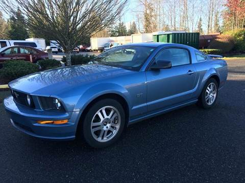 Ford Mustang For Sale In Lynnwood Wa Carsforsale Com
