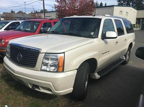 2004 Cadillac Escalade ESV for sale in Lynnwood, WA