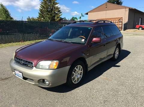 2001 Subaru Outback for sale in Lynnwood, WA