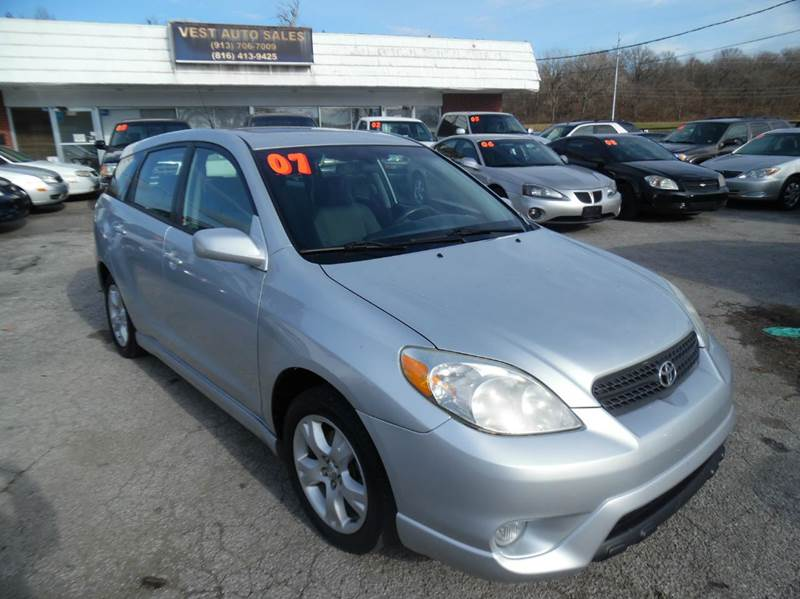 2007 toyota matrix xr 4dr wagon 1 8l i4 5m in kansas. Black Bedroom Furniture Sets. Home Design Ideas