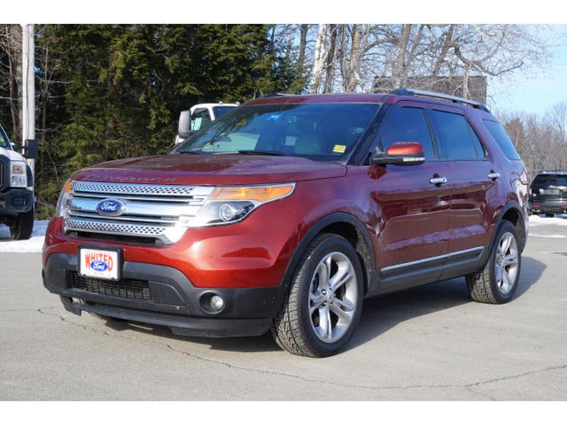 2014 ford explorer for sale in maine. Black Bedroom Furniture Sets. Home Design Ideas