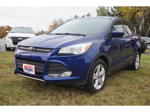 2016 Ford Escape for sale in Bangor, ME