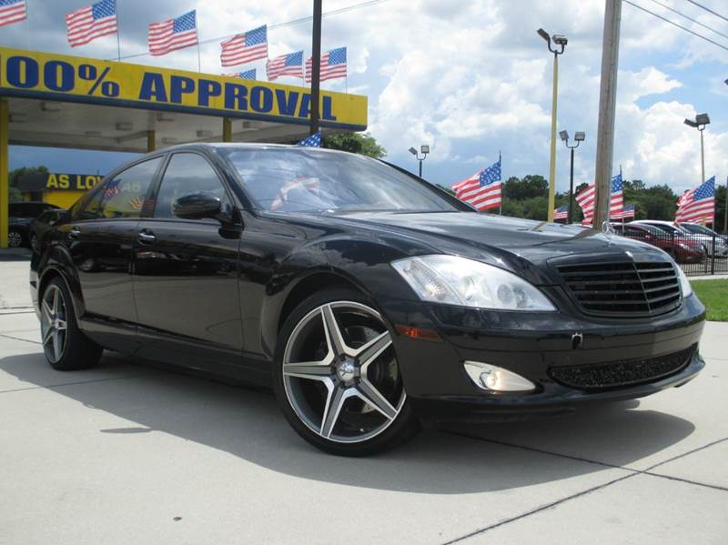 2009 Mercedes Benz S Class S550 4matic Awd 4dr Sedan In Orlando Fl Starmax Finance