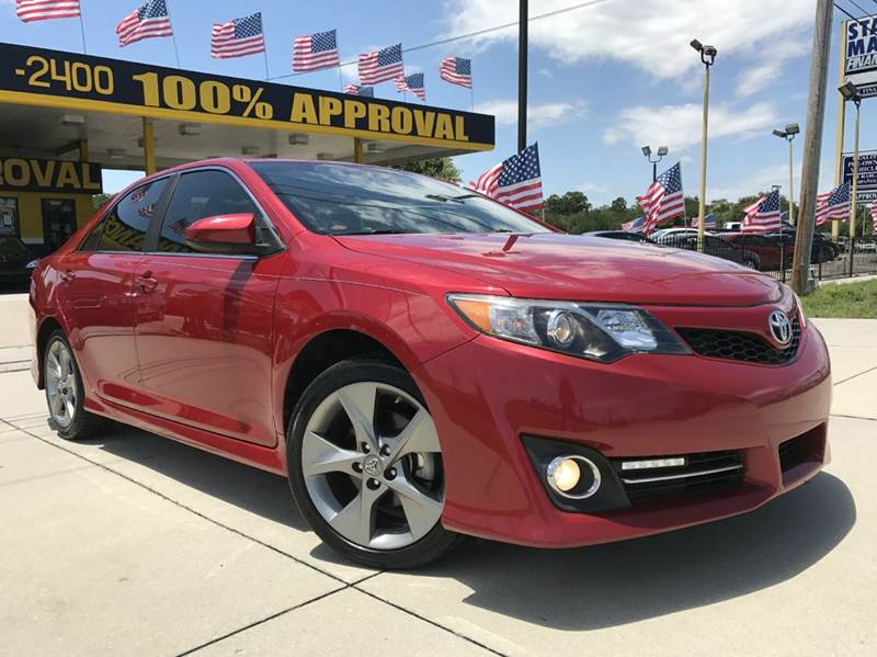 High Quality 2012 Toyota Camry SE Sport Limited Edition 4dr Sedan   Orlando FL
