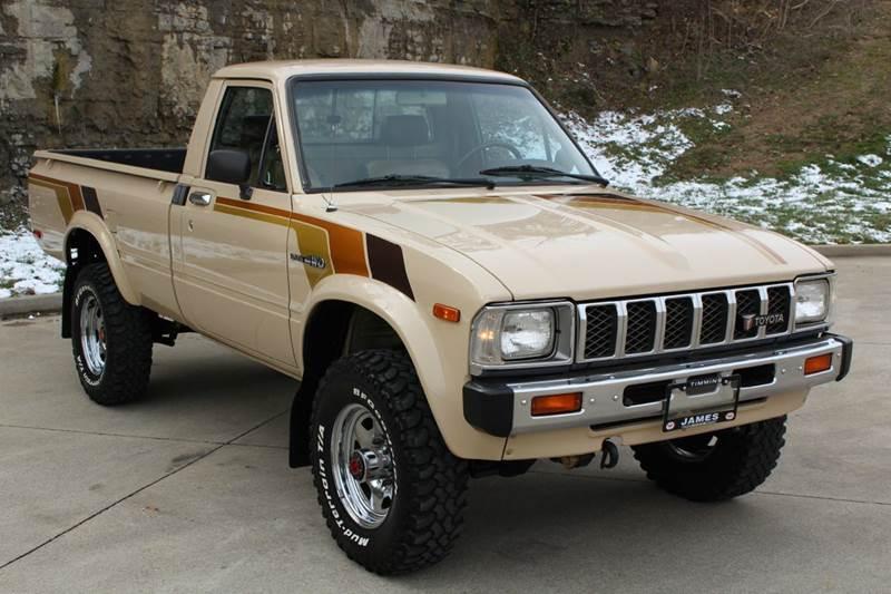 1982 toyota pickup sr5 2dr 4wd standard cab lb in