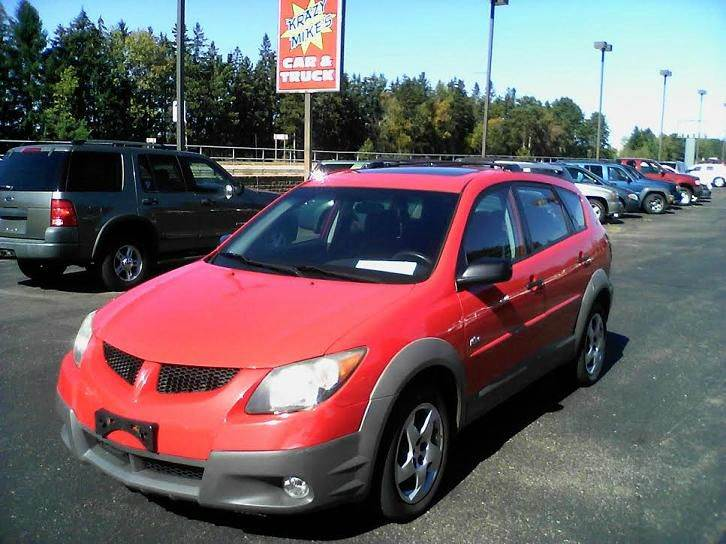 2003 pontiac vibe base awd 4dr wagon in eau claire wi. Black Bedroom Furniture Sets. Home Design Ideas