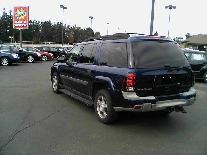 2004 chevrolet trailblazer ext ls 4wd 4dr suv in eau claire wi krazy mikes car and truck. Black Bedroom Furniture Sets. Home Design Ideas