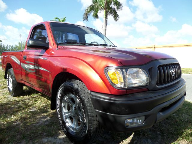 2001 TOYOTA TACOMA REGULAR CAB 2WD burgundy call 1-877-775-0217 for sales this beautiful 200