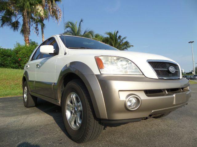 2005 KIA SORENTO EX 4DR SUV white financing affordable for everyone