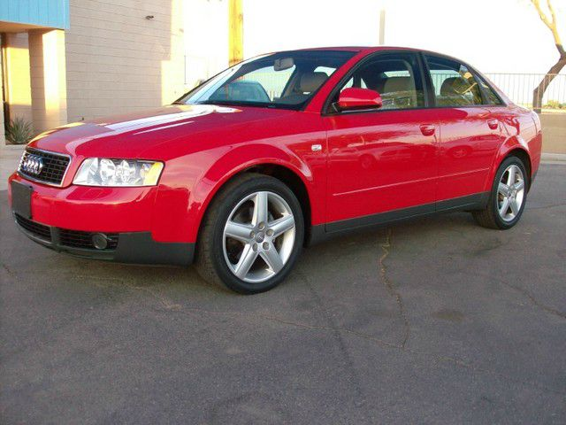 2005 AUDI A4 18T 4DR SEDAN red front air conditioning - automatic climate control front air cond