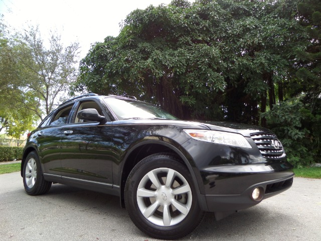 2005 INFINITI FX35 FX35 2WD black call 1-877-775-0217 for sales despite what this tallish su