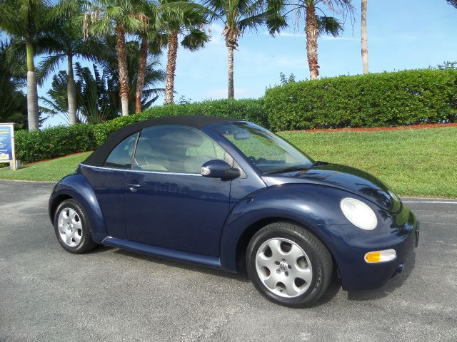 2003 VOLKSWAGEN BEETLE GLS 20L CONVERTIBLE blue call 1-877-775-0217 for sales this 2005 vol