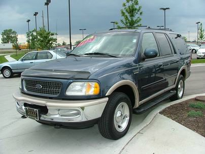 1998 FORD EXPEDITION EDDIE BAUER 2WD blue call 1-877-775-0217 for sales limited budget no p