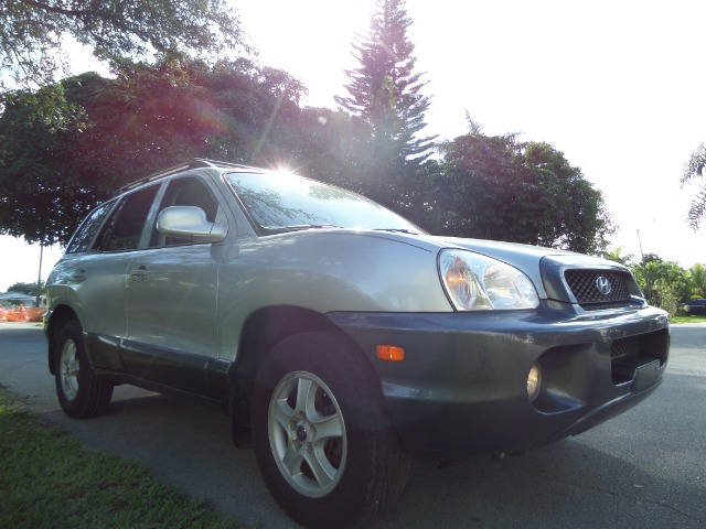 2003 HYUNDAI SANTA FE GLS silver call 1-877-775-0217 for sales this 2003 hyundai santa fe gl