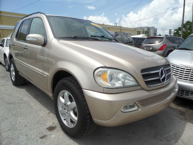 2003 MERCEDES-BENZ M-CLASS ML500 AWD 4MATIC 4DR SUV gold call 1-877-775-0217 for sales this