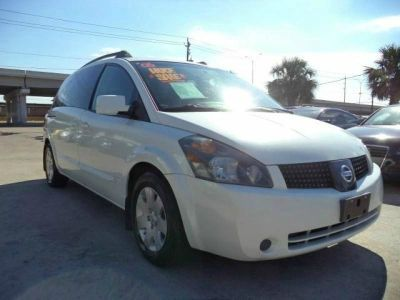 2006 NISSAN QUEST 35 white call 1-877-775-0217 for sales this 2006 nissan quest is on sale