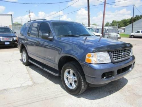 2004 FORD EXPLORER XLT SPORT 40L 4WD blue call 1-877-775-0217 for sales this 2004 ford expl