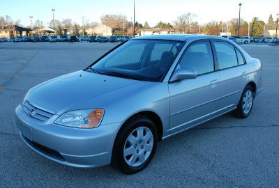 2002 HONDA CIVIC LX SEDAN silver call 1-877-775-0217 for sales this 2002 honda civic lx seda
