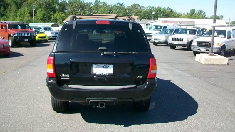 2001 Jeep Grand Cherokee Limited 4WD 4dr SUV - Fredericksburg VA