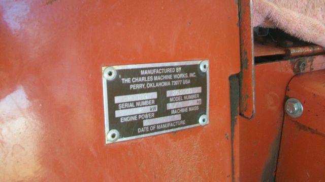 """1997 DITCH WITCH 3610 12 """" CHAIN - Fredericksburg VA"""