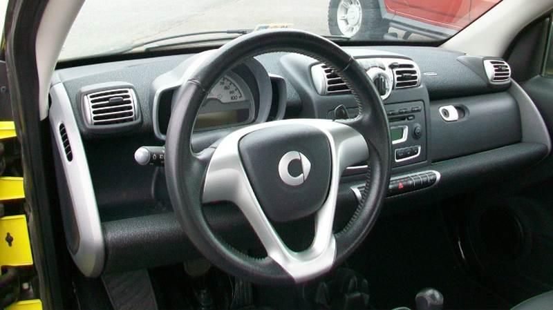2008 Smart fortwo passion 2dr Hatchback - Fredericksburg VA
