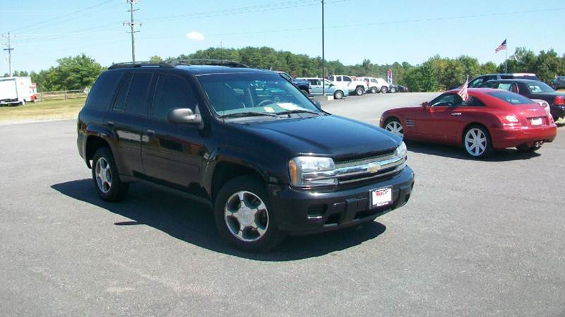 2008 Chevrolet TrailBlazer LT1 4x4 4dr SUV - Fredericksburg VA