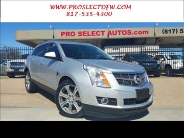 2012 Cadillac SRX for sale in Forest Hill, TX