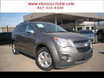 2012 Chevrolet Equinox for sale in Forest Hill, TX