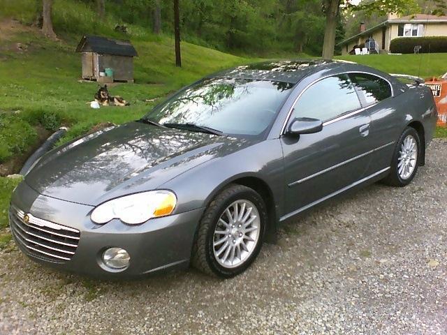 2004 Chrysler Sebring Limited 2dr Coupe - WEST ALEXANDER PA