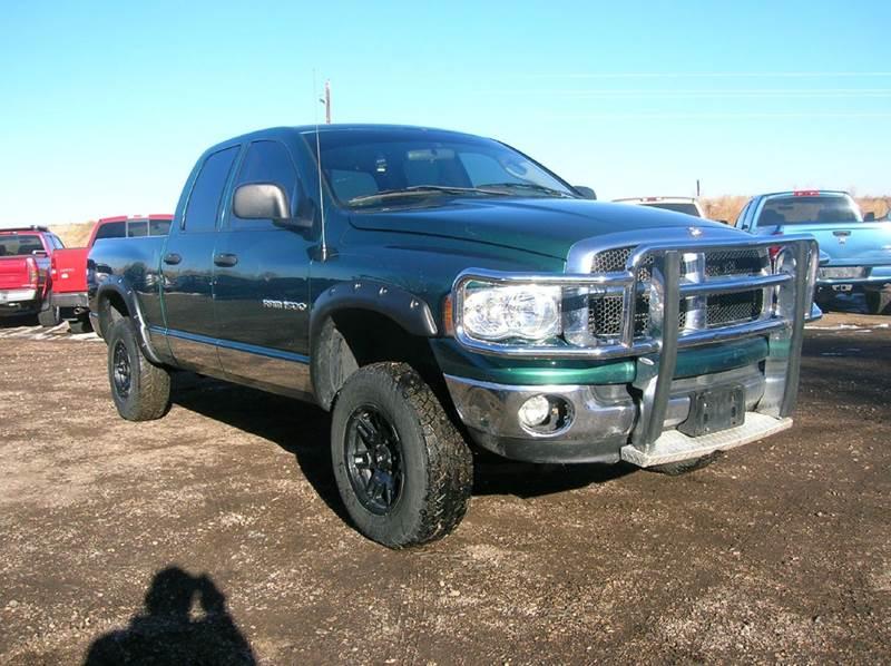 2003 dodge ram pickup 1500 4dr laramie 4wd quad cab sb in fort collins co horsepower auto brokers. Black Bedroom Furniture Sets. Home Design Ideas