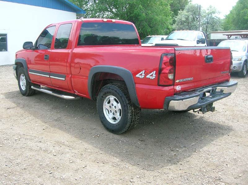 2004 Chevrolet Silverado 1500 4dr Extended Cab LS 4WD SB - Fort Collins CO