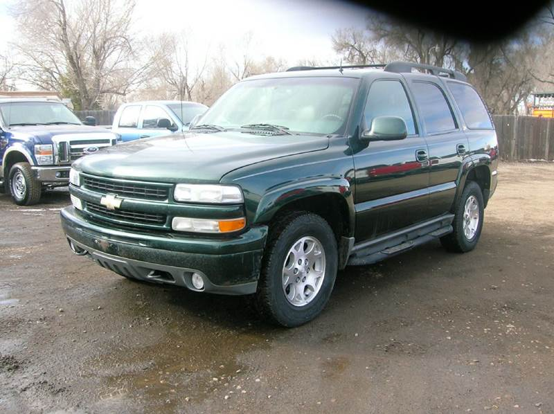 2002 Chevrolet Tahoe LT 4WD 4dr SUV - Fort Collins CO