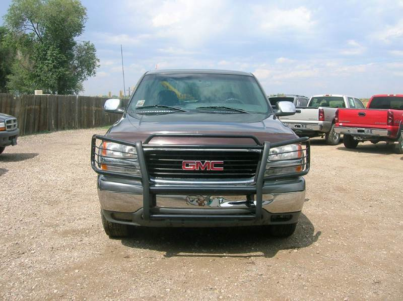 2001 GMC Sierra 1500 4dr Extended Cab SLE 4WD SB - Fort Collins CO