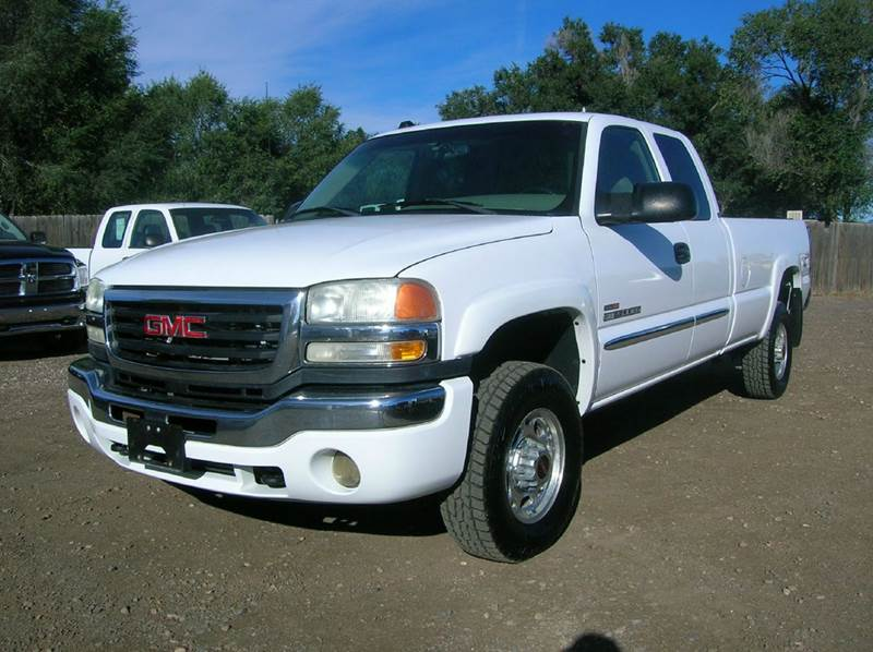 2004 gmc sierra 2500hd 4dr extended cab sle 4wd lb in fort collins co horsepower auto brokers. Black Bedroom Furniture Sets. Home Design Ideas
