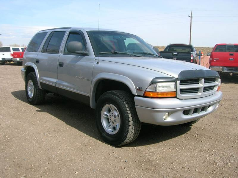 2000 dodge durango 4dr slt 4wd suv in fort collins co. Black Bedroom Furniture Sets. Home Design Ideas
