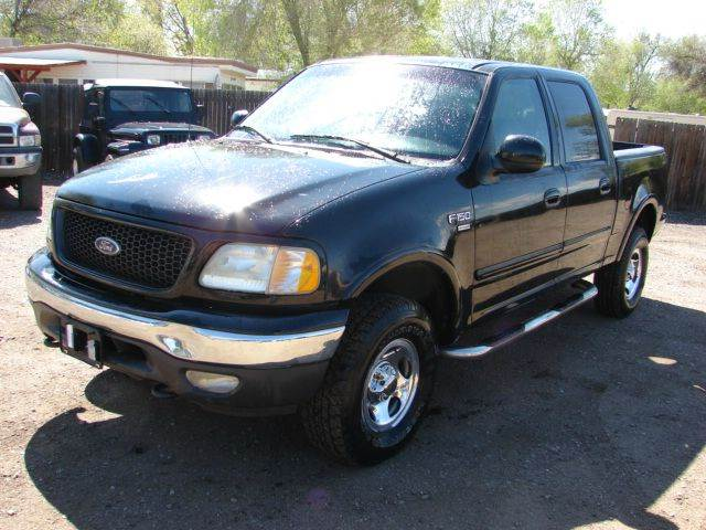2002 ford f 150 4dr supercrew xlt 4wd styleside sb in fort. Black Bedroom Furniture Sets. Home Design Ideas