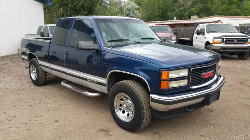 1995 gmc sierra 1500 2dr k1500 sle 4wd extended cab sb in. Black Bedroom Furniture Sets. Home Design Ideas