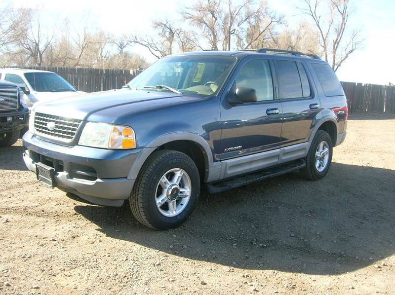 2002 ford explorer 4dr xlt 4wd suv in fort collins co horsepower auto brokers. Black Bedroom Furniture Sets. Home Design Ideas