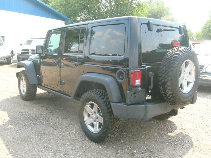 2012 Jeep Wrangler Unlimited 4x4 Rubicon 4dr SUV - Fort Collins CO