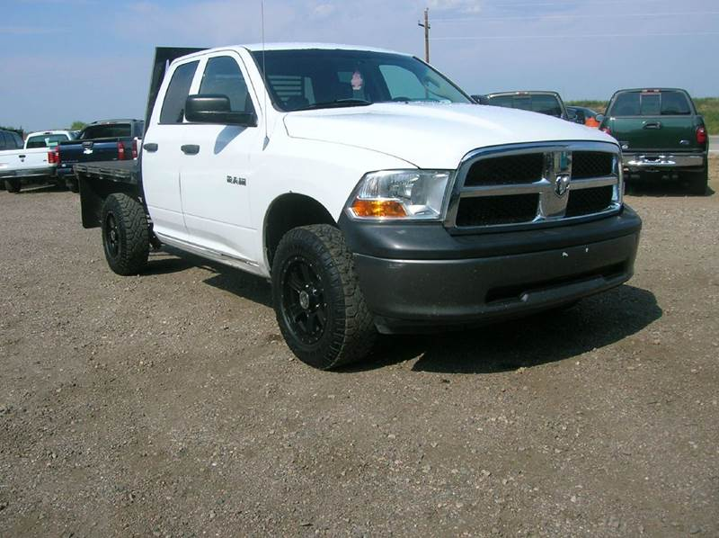 2010 Dodge Ram Pickup 1500 4x4 ST 4dr Quad Cab 6.3 ft. SB Pickup - Fort Collins CO