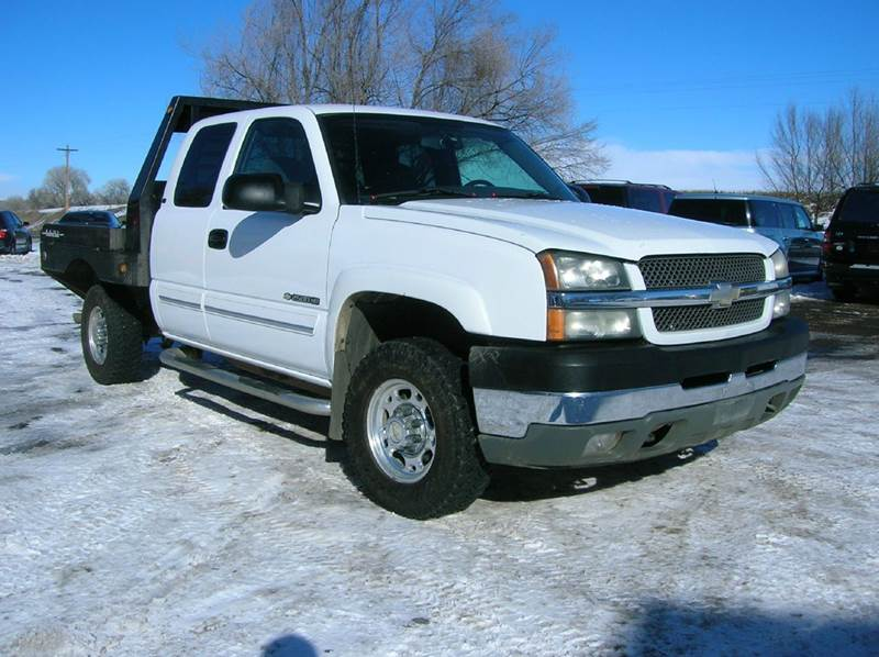 2004 chevrolet silverado 2500hd ls 4dr extended cab 4wd sb in fort collins co horsepower auto. Black Bedroom Furniture Sets. Home Design Ideas