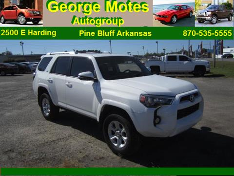 2016 Toyota 4Runner for sale in Pine Bluff, AR