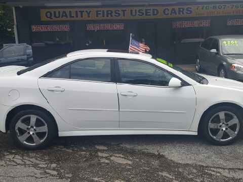 Quality First Used Cars Decatur Ga