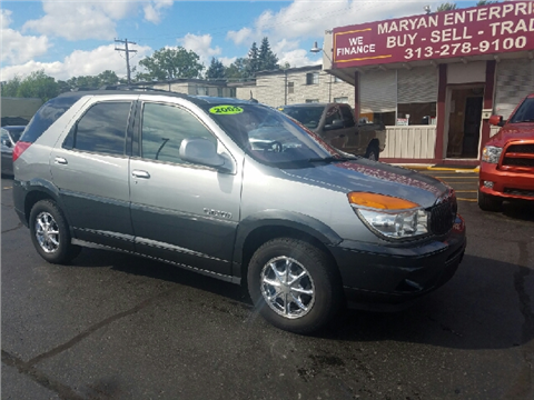 Buick rendezvous for sale michigan for Thompson motors lapeer mi