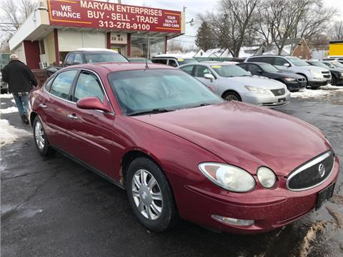 2005 Buick Allure for sale in Inkster, MI