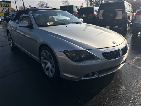 2004 BMW 6 Series for sale in Inkster, MI